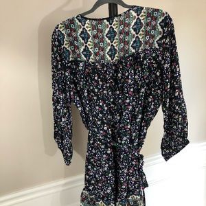 Suzanne Betro Womens Dress 1X Flower Print